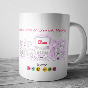 taza para la mejor community manager