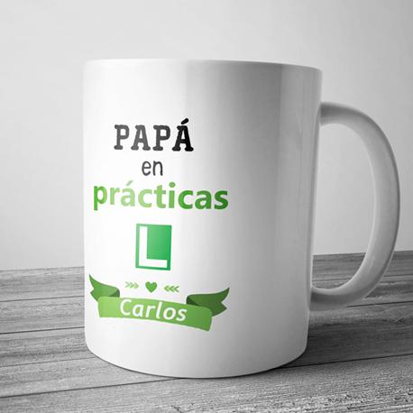 taza regalo para papas